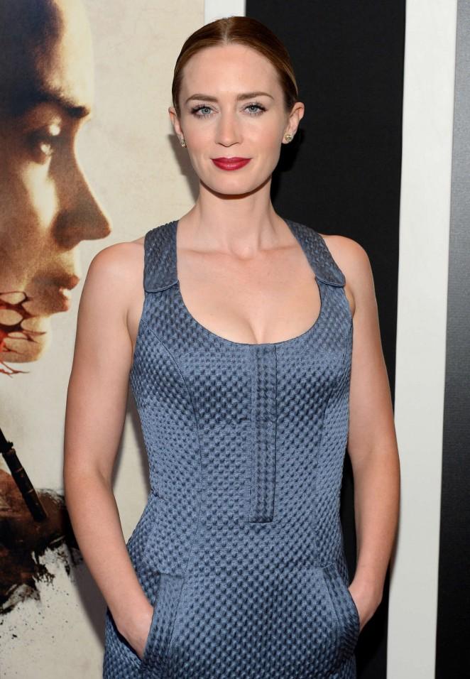 Emily Blunt - 'Sicario' Premiere in New York