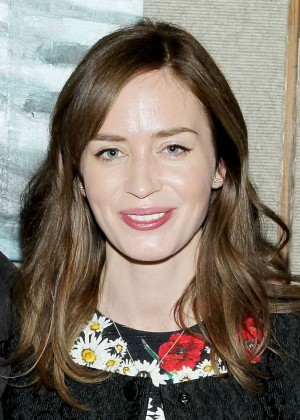 Emily Blunt - Special Luncheon Celebrating Sicario in New York