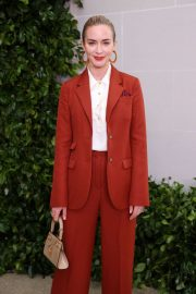 Emily Blunt - Tory Burch Show in New York City