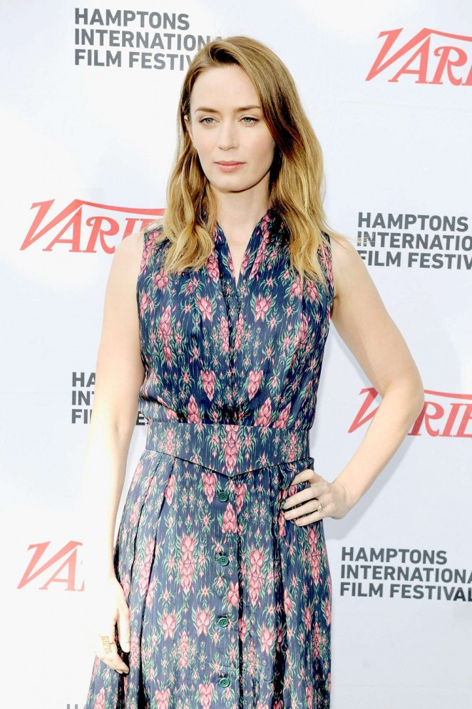 Emily Blunt - Variety 10 To Watch Mentor Brunch at the Hamptons International FF