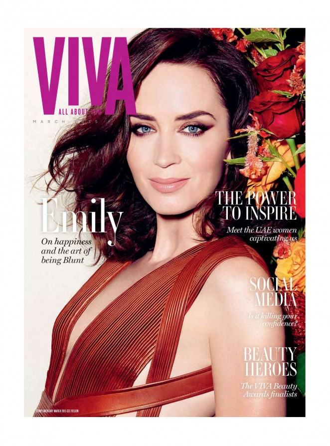 Emily Blunt - VIVA Middle East Magazine (March 2015)