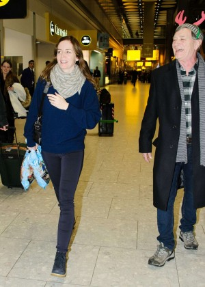 Emily Blunt at Heathrow Airport -07