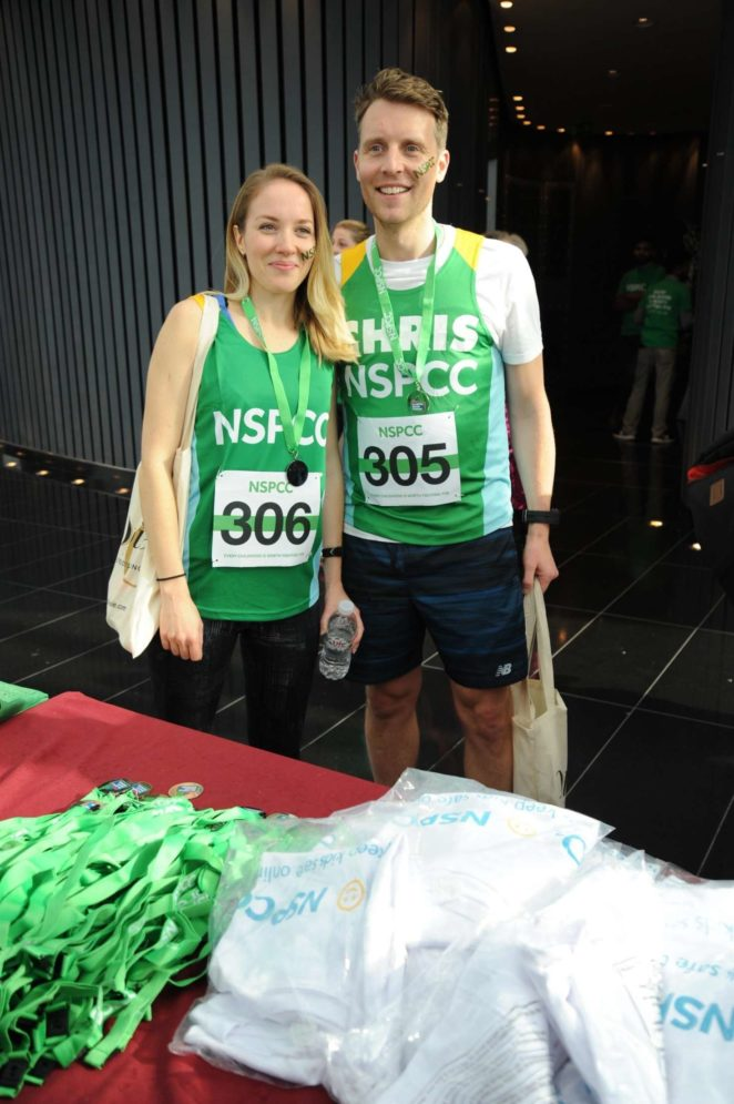 Emily Bowker: Takes on the Gherkin Challenge for the NSPCC -02