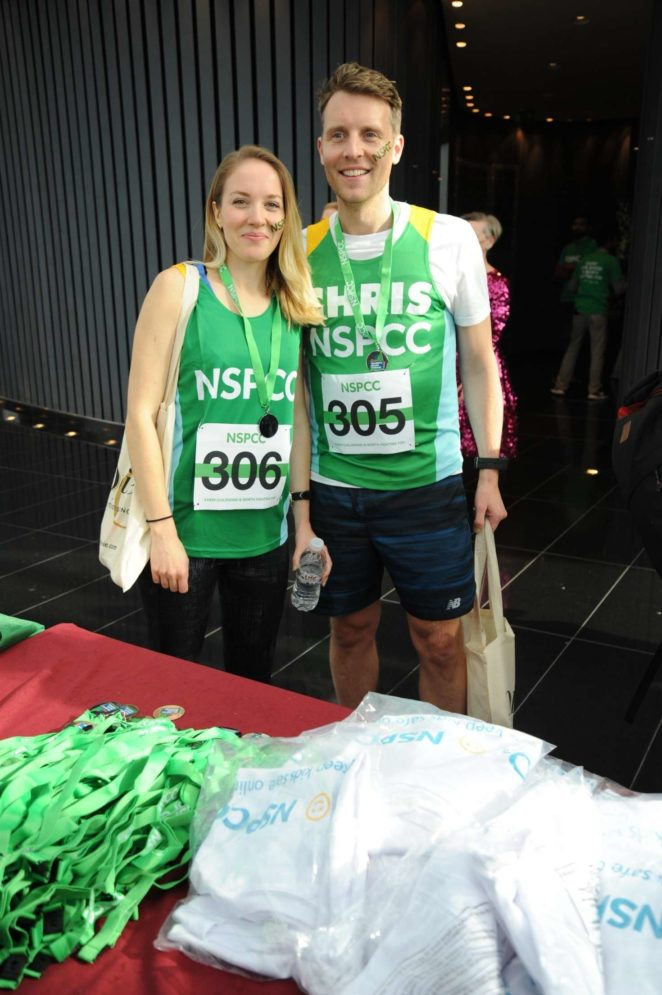 Emily Bowker - Takes on the Gherkin Challenge for the NSPCC in London