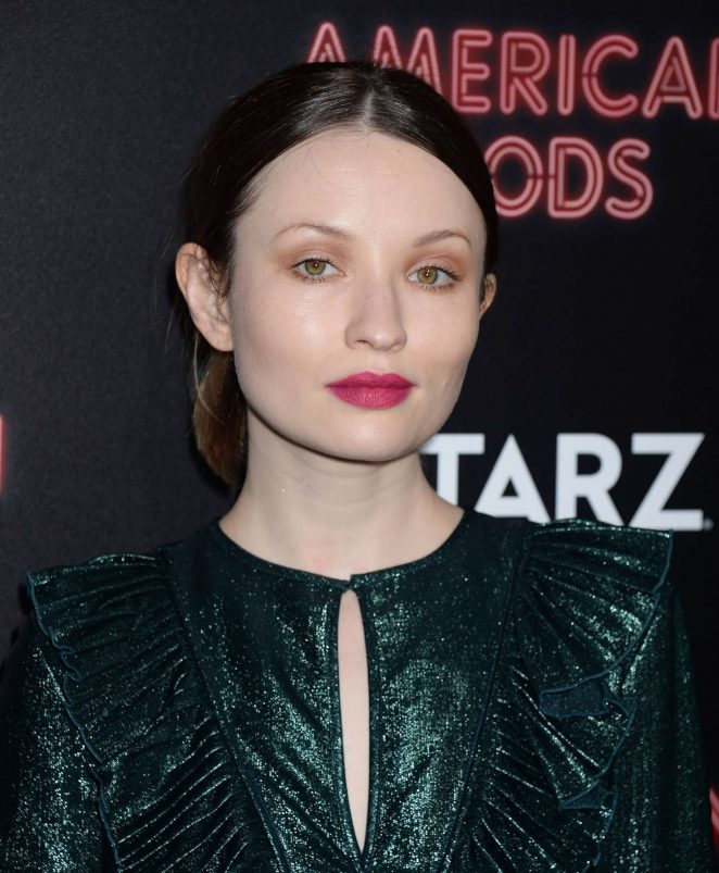 Emily Browning - 'American Gods' Premiere in Los Angeles