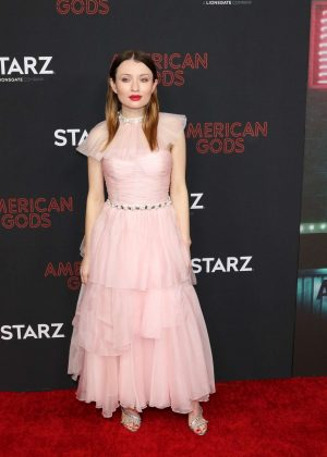 Emily Browning - 'American Gods' Season 2 Premiere in Los Angeles
