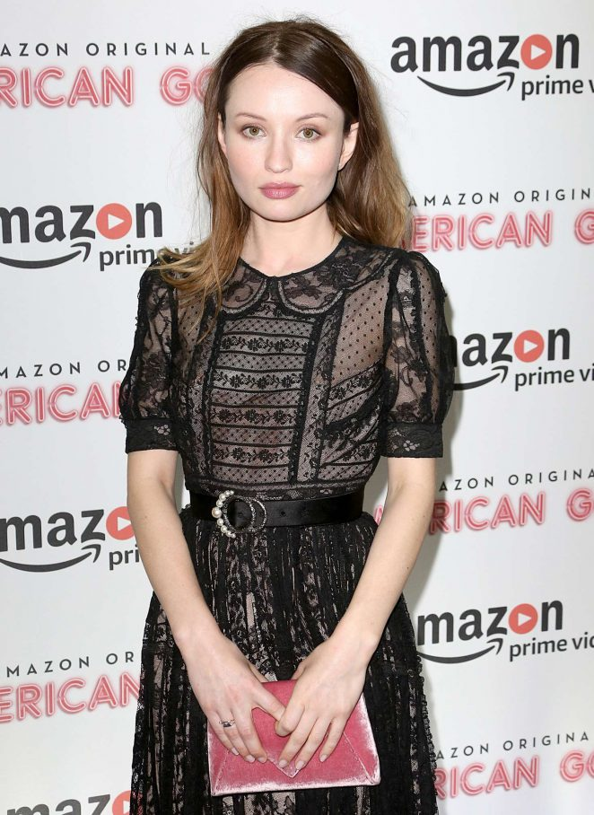 Emily Browning - 'American Gods' UK TV Premiere in London