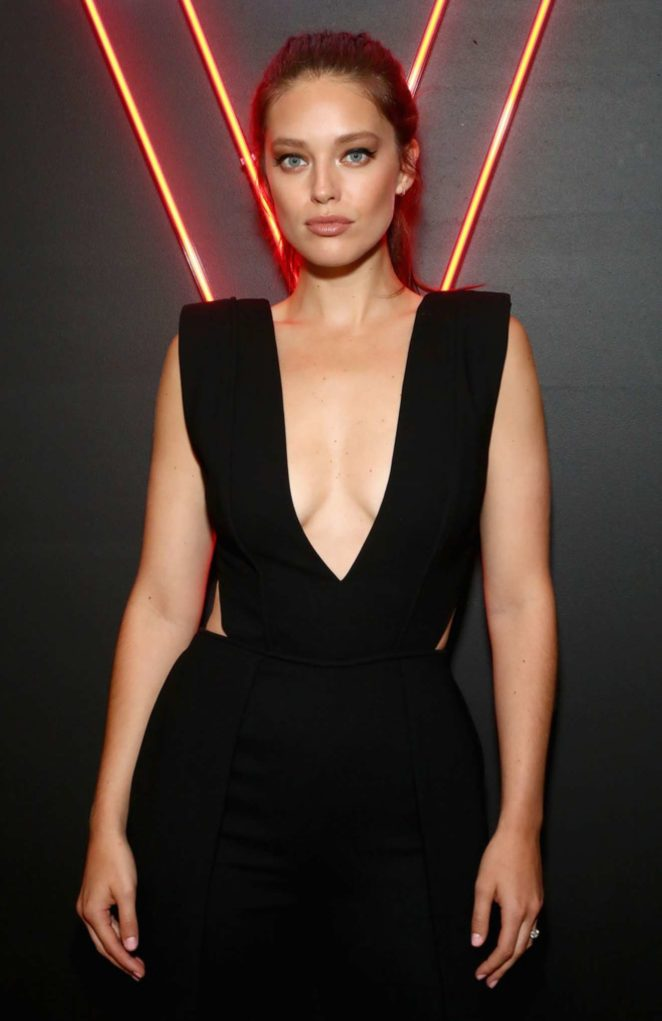 Emily DiDonato - An Evening at the Maybelline Mansion Presented by V in NYC