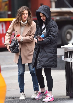 Emily DiDonato and Ali Michael out in New York
