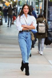 Emily DiDonato in Jeans - Out in New York