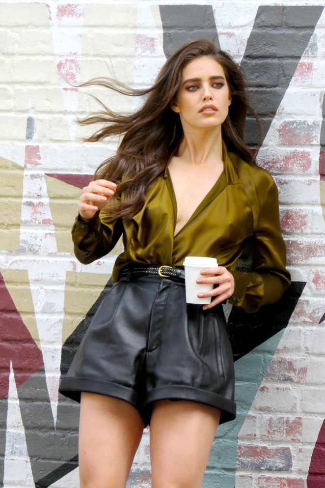 Emily DiDonato - Maybelline Photoshoot in New York City