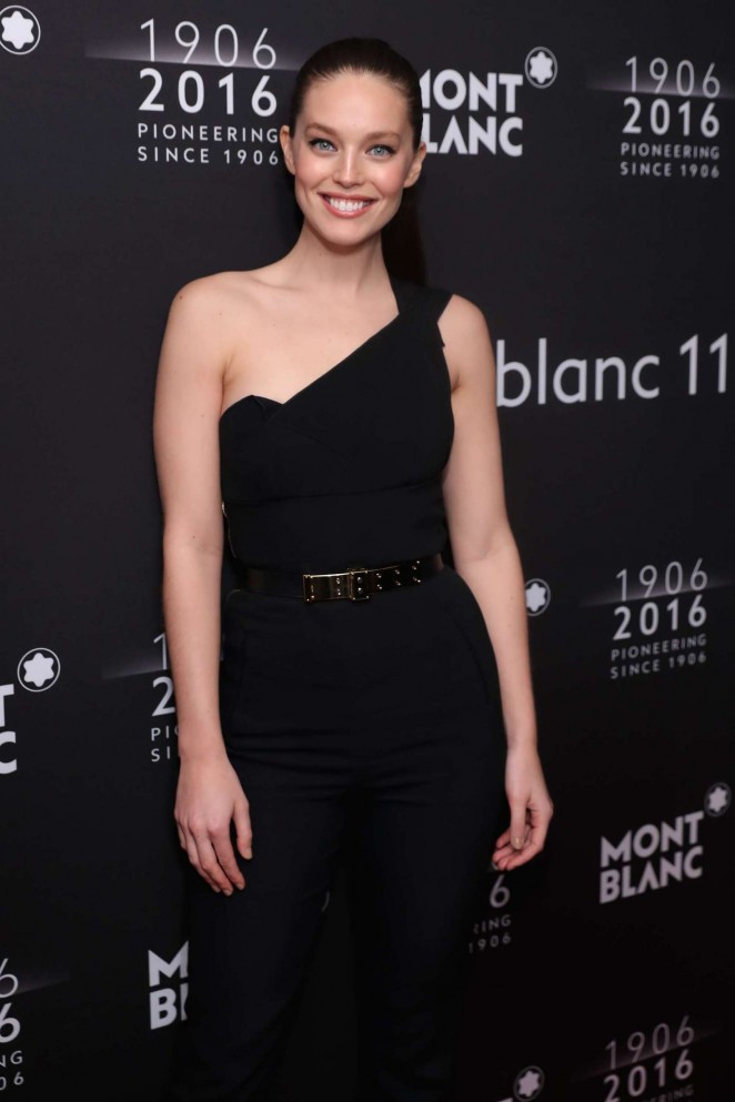 Emily DiDonato - Montblanc 110th Anniversary Gala Dinner in New York