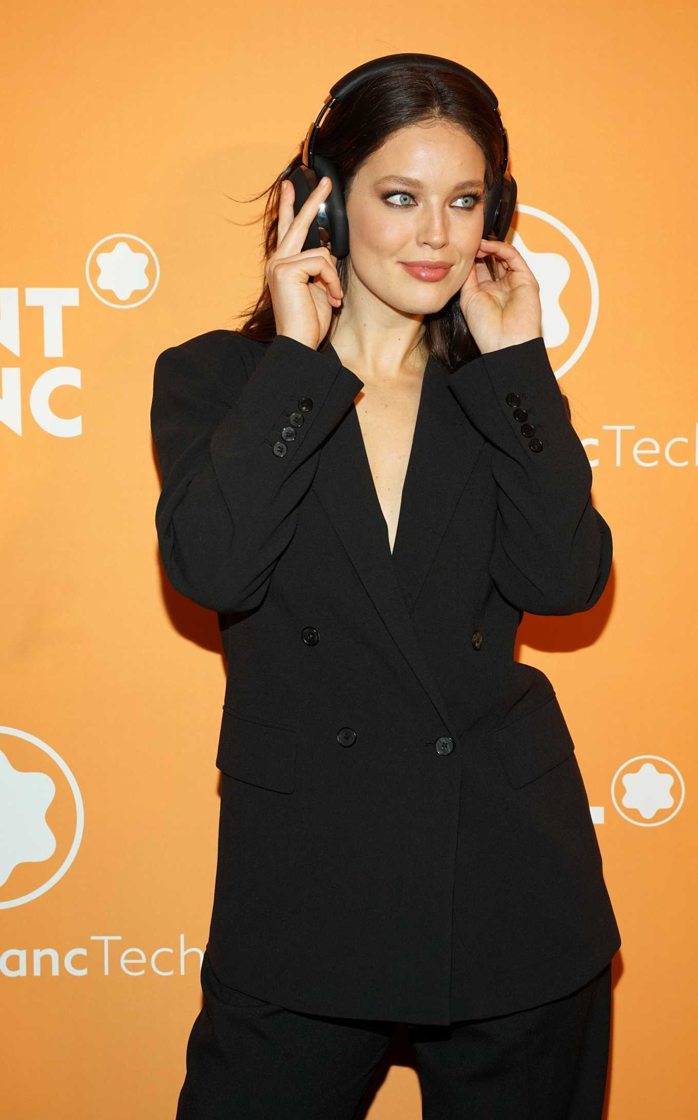 Emily DiDonato - Montblanc MB 01 Smart Headphones & Summit 2+ Launch Party in NYC