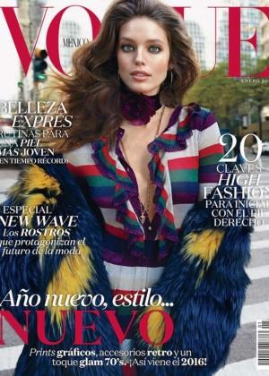 Emily DiDonato - Vogue Mexico Cover (January 2016)