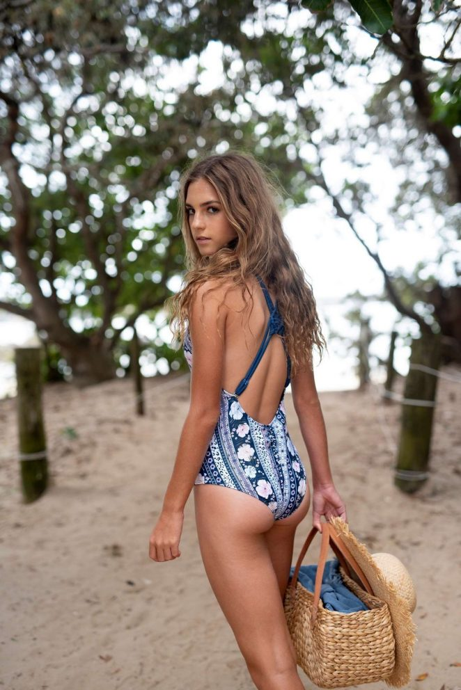 Emily Feld: Fearless Girl Collection 2018 -10   GotCeleb