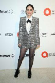 Emily Hampshire - 2020 Elton John AIDS Foundation Oscar Viewing Party in LA