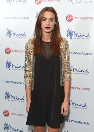 Emily Hartridge - 2015 Mind Media Awards in London