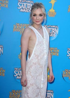 Emily Kinney - 2015 Saturn Awards in Burbank