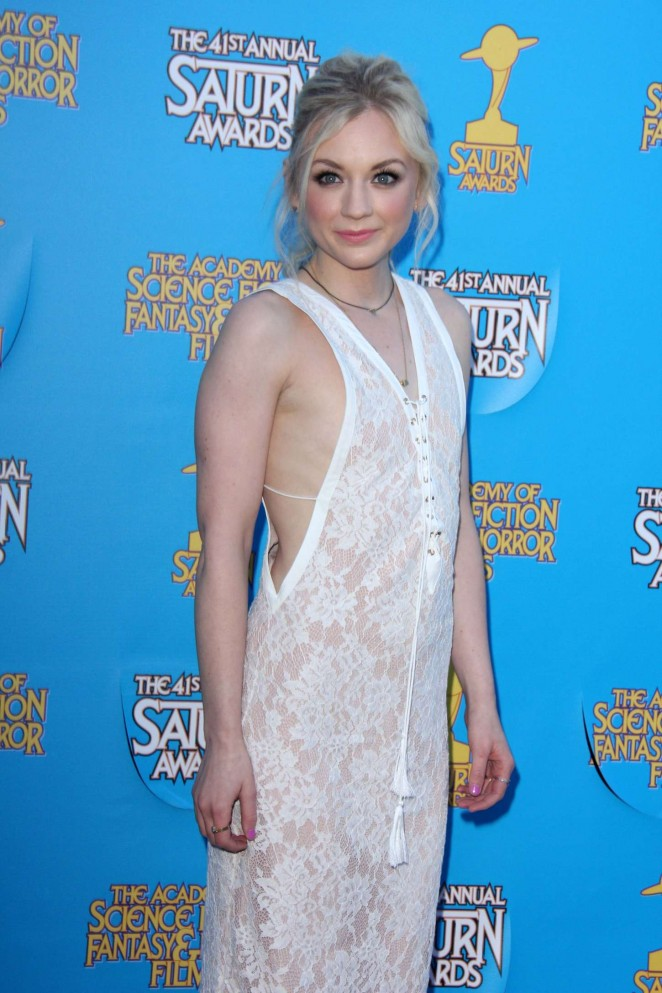 Emily Kinney - 2015 Saturn Awards in Burbank