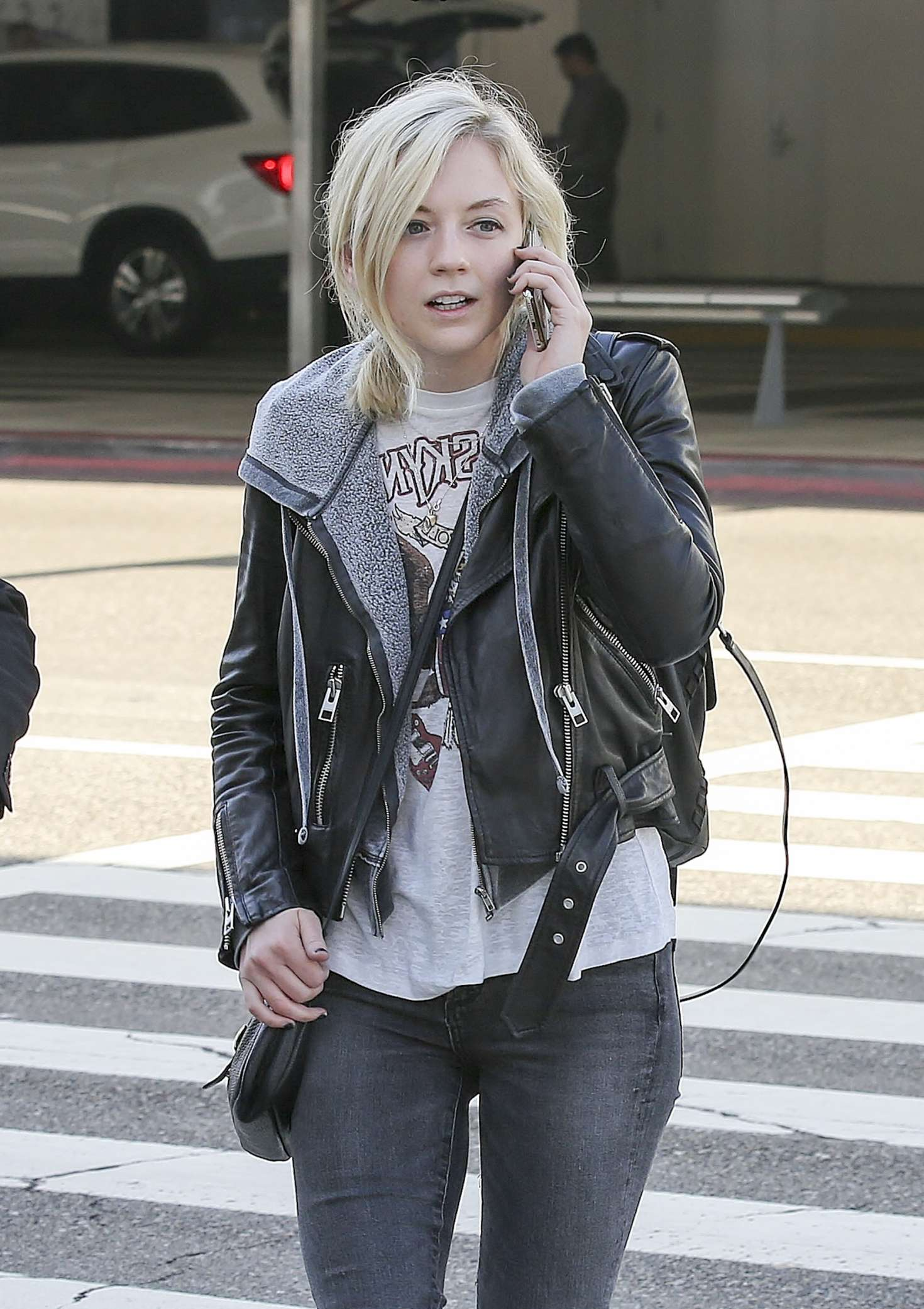 Emily Kinney 2017 : Emily Kinney at LAX Airport in LA -01