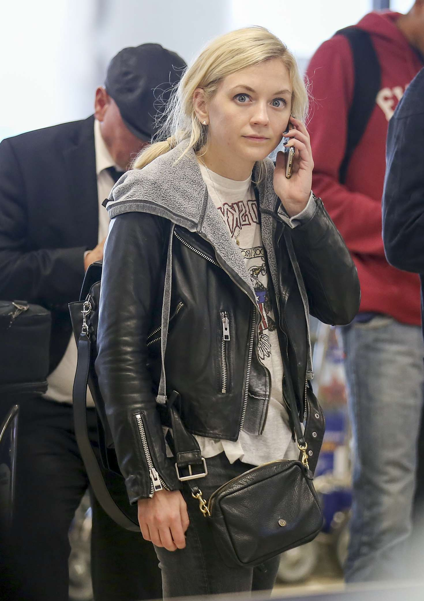 Emily Kinney 2017 : Emily Kinney at LAX Airport in LA -04