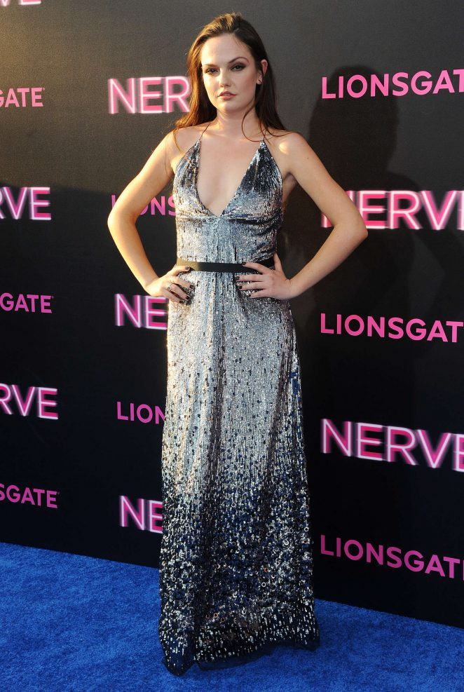Emily Meade - 'Nerve' Premiere in New York City