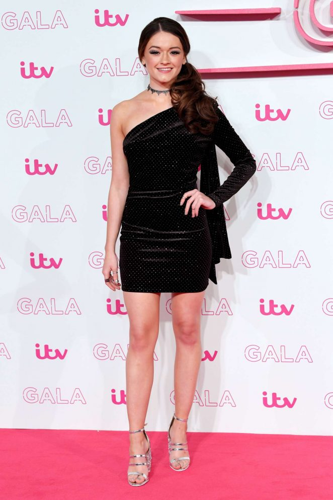 Emily Middlemas - 2016 ITV Gala in London