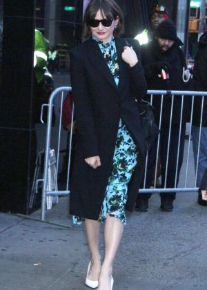 Emily Mortimer at Good Morning America in New York