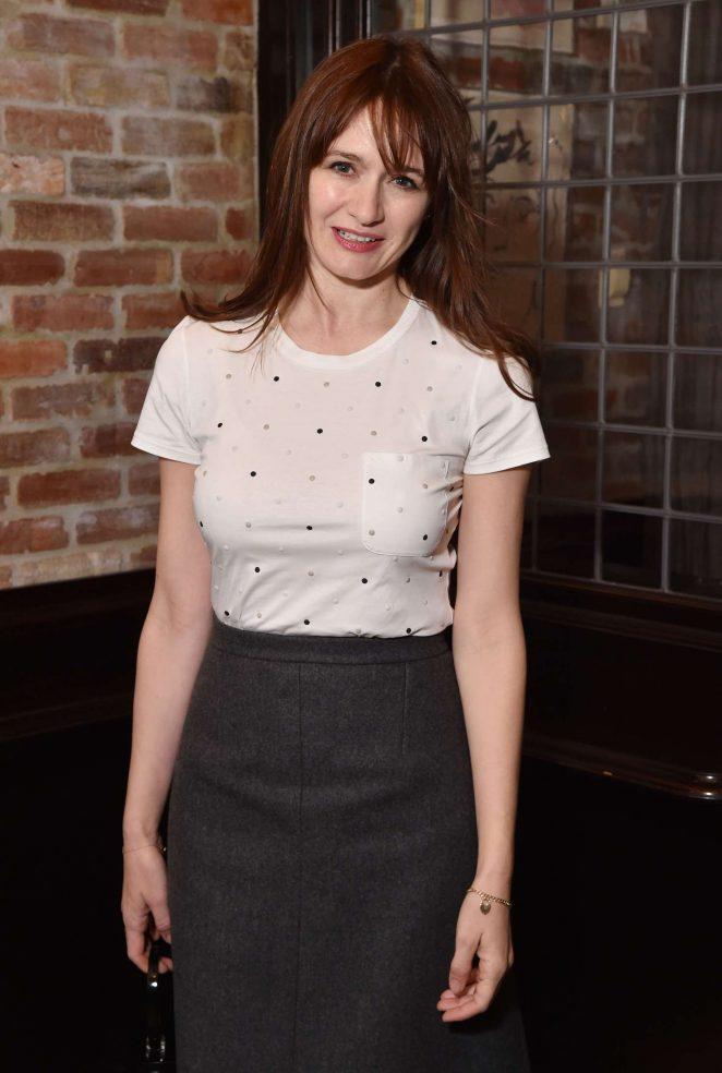 Emily Mortimer - The Tribeca Chanel Women's Filmmaker Program Luncheon in NY
