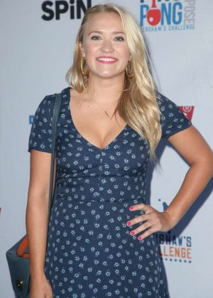Emily Osment - 6th Annual Ping Pong 4 Purpose in LA