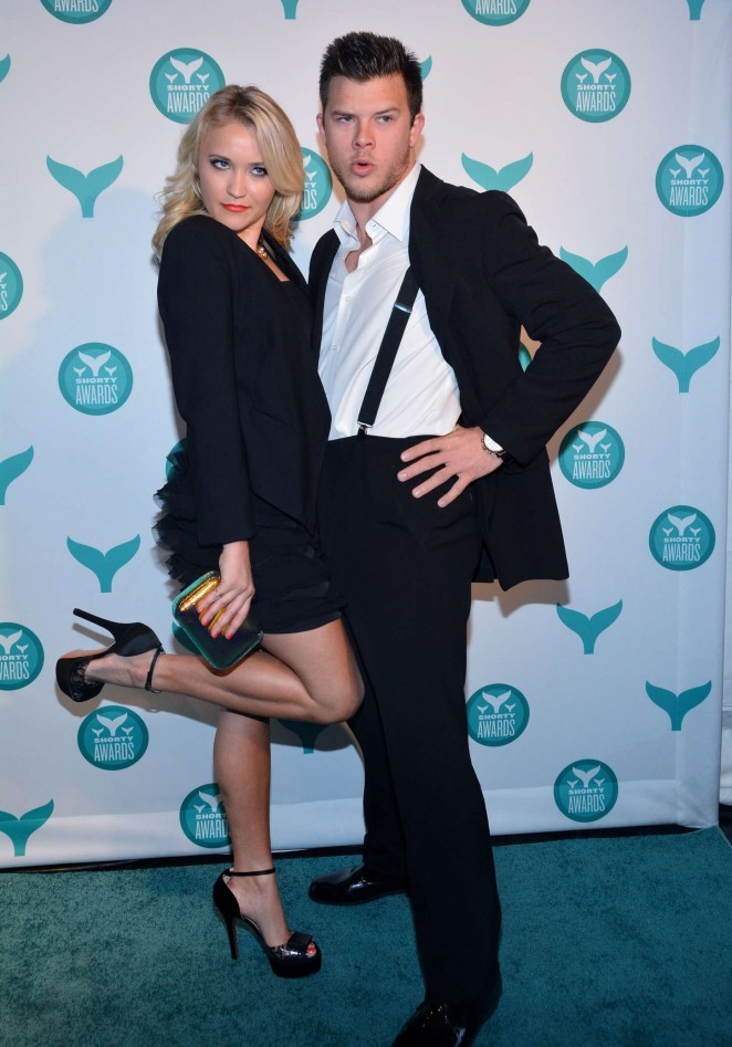 Emily Osment - 2015 Shorty Awards in NYC