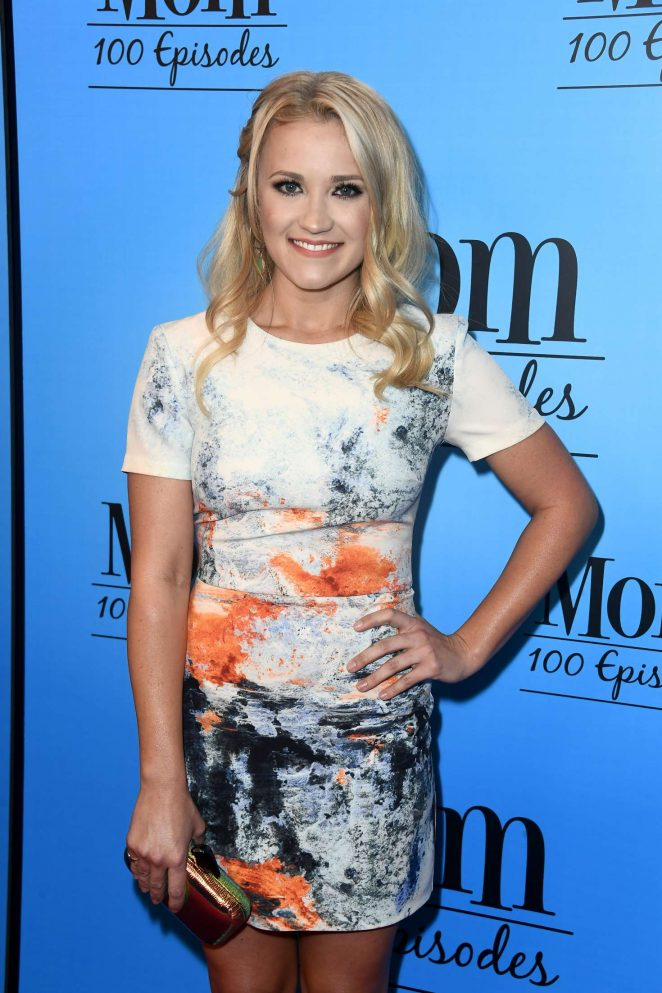 Emily Osment - 'Mom' Celebrates 100 Episodes in Los Angeles