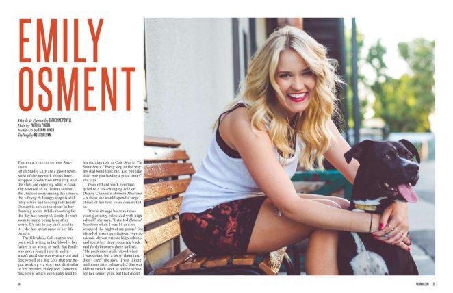 Emily Osment: NKD Magazine 2016 -02