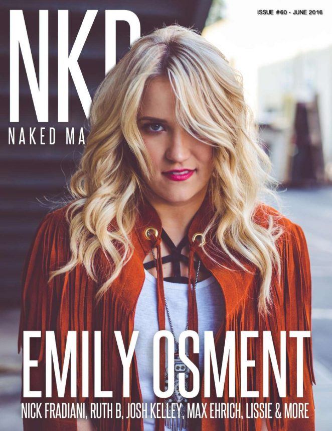 Emily Osment: NKD Magazine 2016 -03