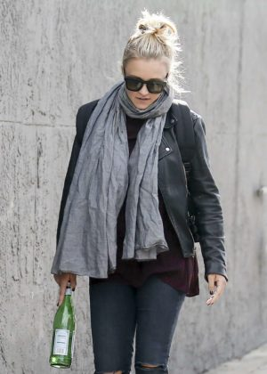 Emily Osment out in LA