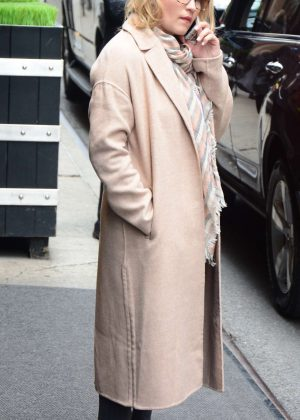 Emily osment out in New York