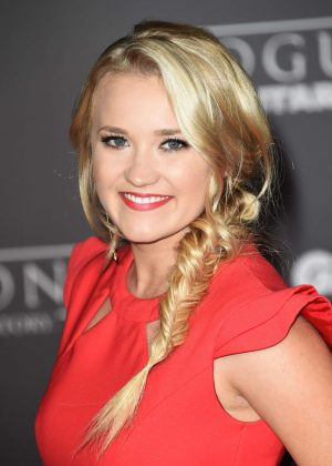 Emily Osment - 'Star Wars Rouge One' Premiere in Hollywood