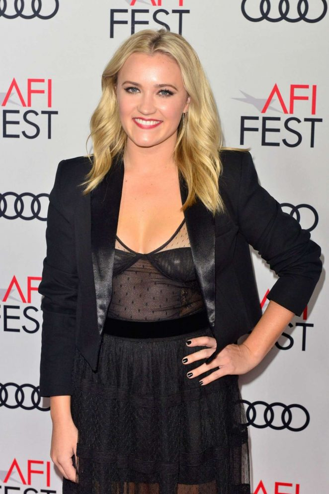 Emily Osment – 'The Kominsky Method' Premiere – AFI FEST 2018 in LA