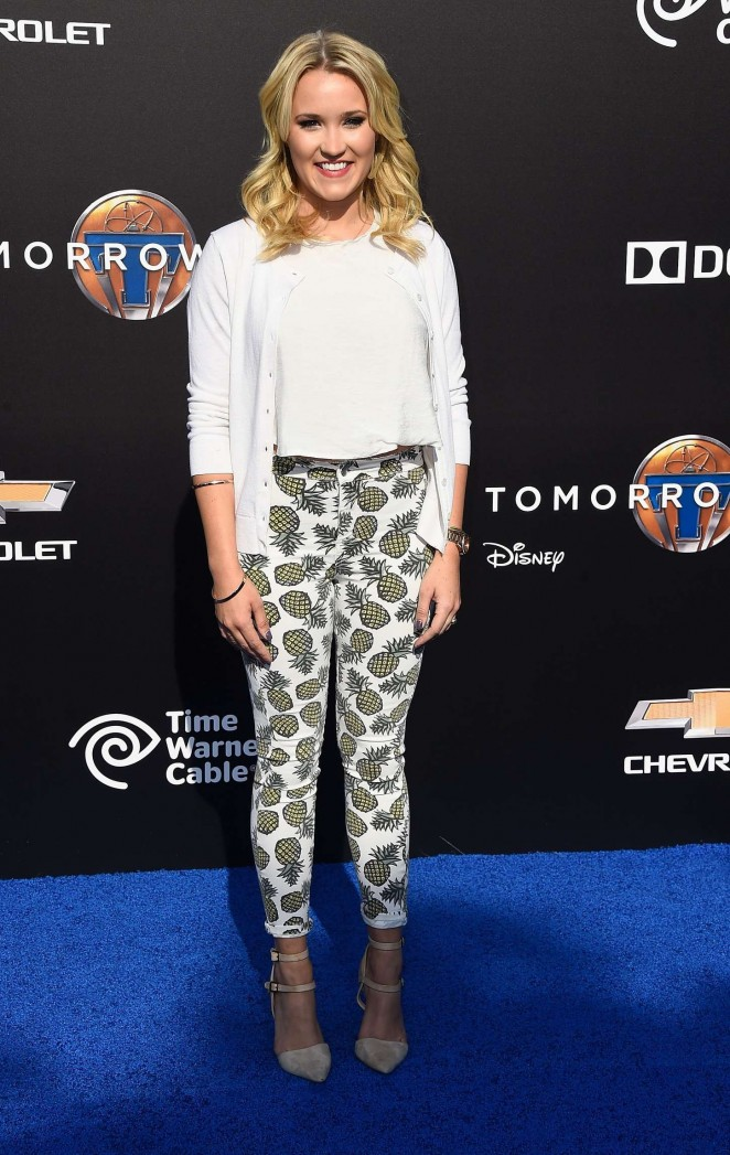 Emily Osment: Tomorrowland Premiere -03