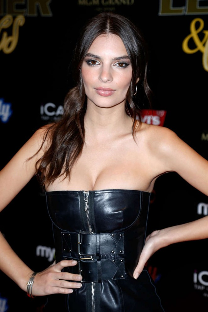 Emily Ratajkowski - 13th annual Leather & Laces Mega Party in San Francisco