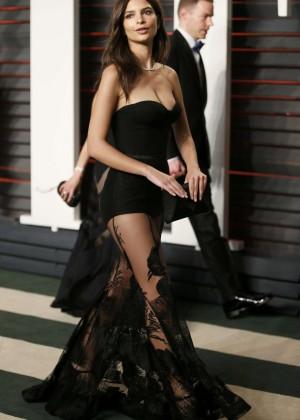 Emily Ratajkowski - 2016 Vanity Fair Oscar Party in Beverly Hills