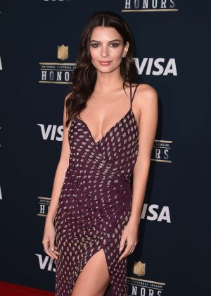 Emily Ratajkowski - 2017 NFL Honors in Houston