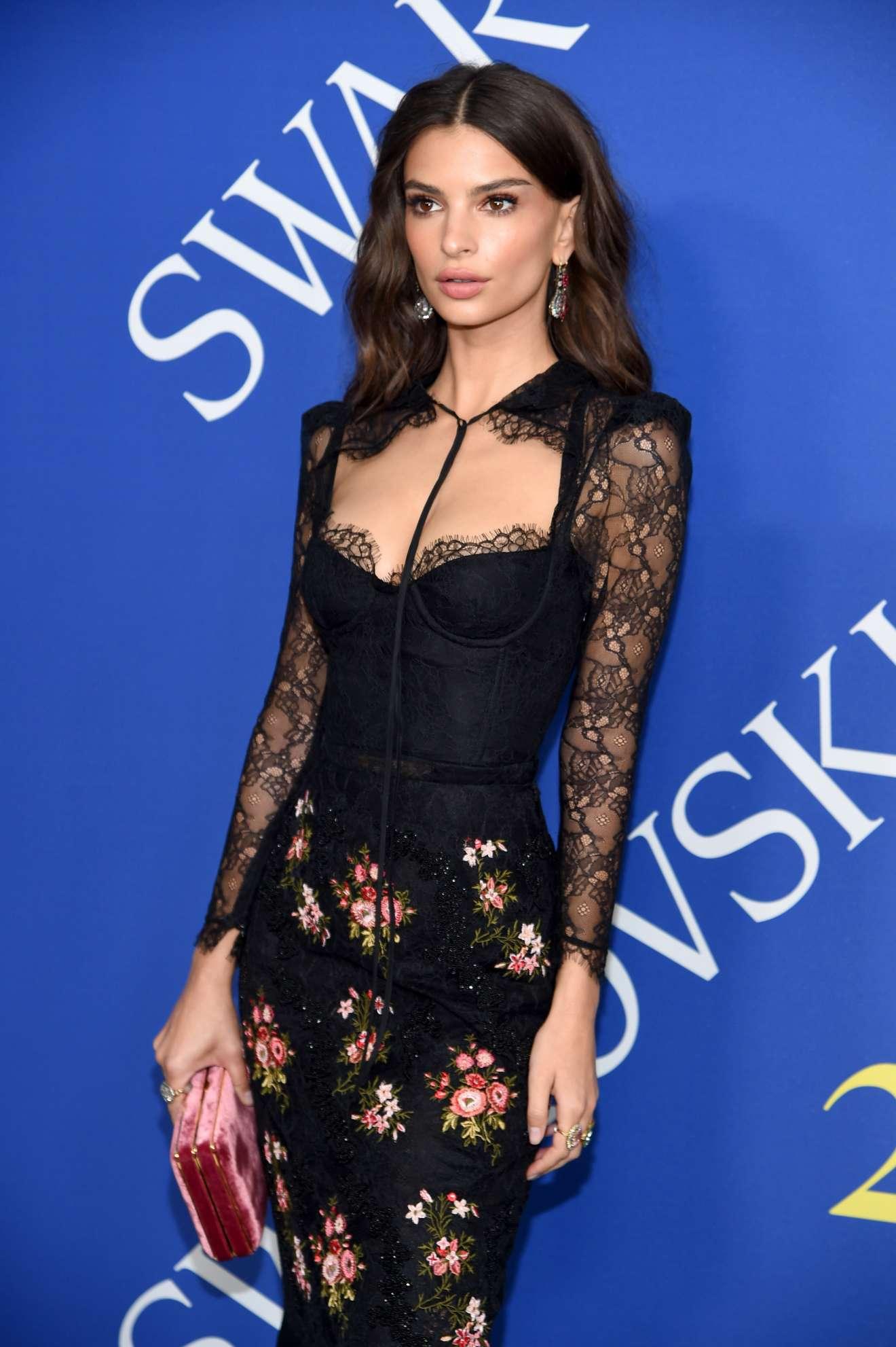 Emily Ratajkowski - 2018 CFDA Fashion Awards in Brooklyn