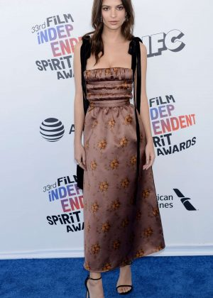 Emily Ratajkowski - 2018 Film Independent Spirit Awards in Santa Monica