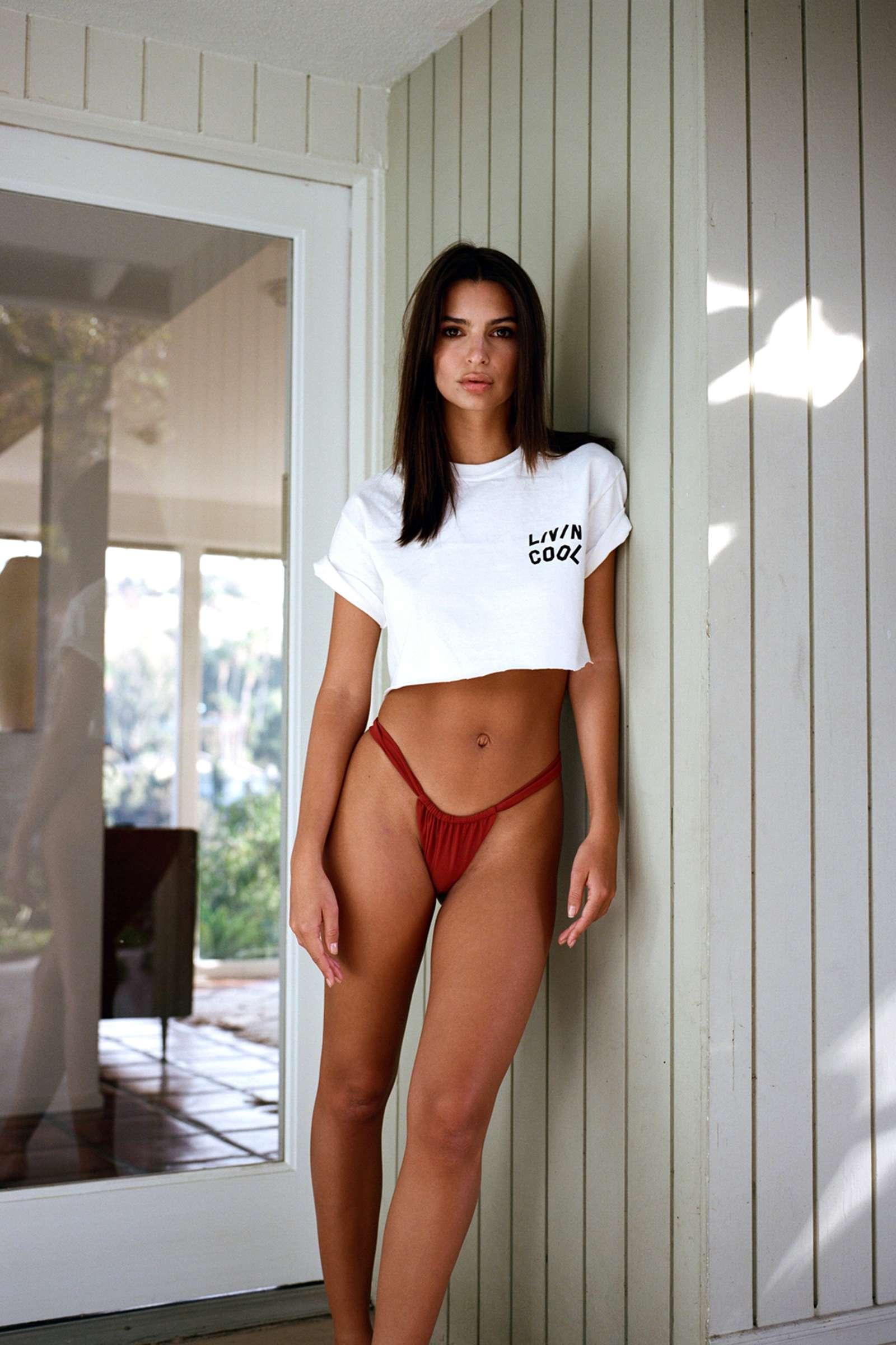 Emily Ratajkowski - 2018 LIVINCOOL Lookbook