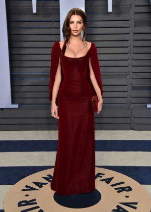 Emily Ratajkowski - 2018 Vanity Fair Oscar Party in Hollywood