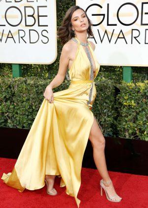 Emily Ratajkowski - 74th Annual Golden Globe Awards in Beverly Hills