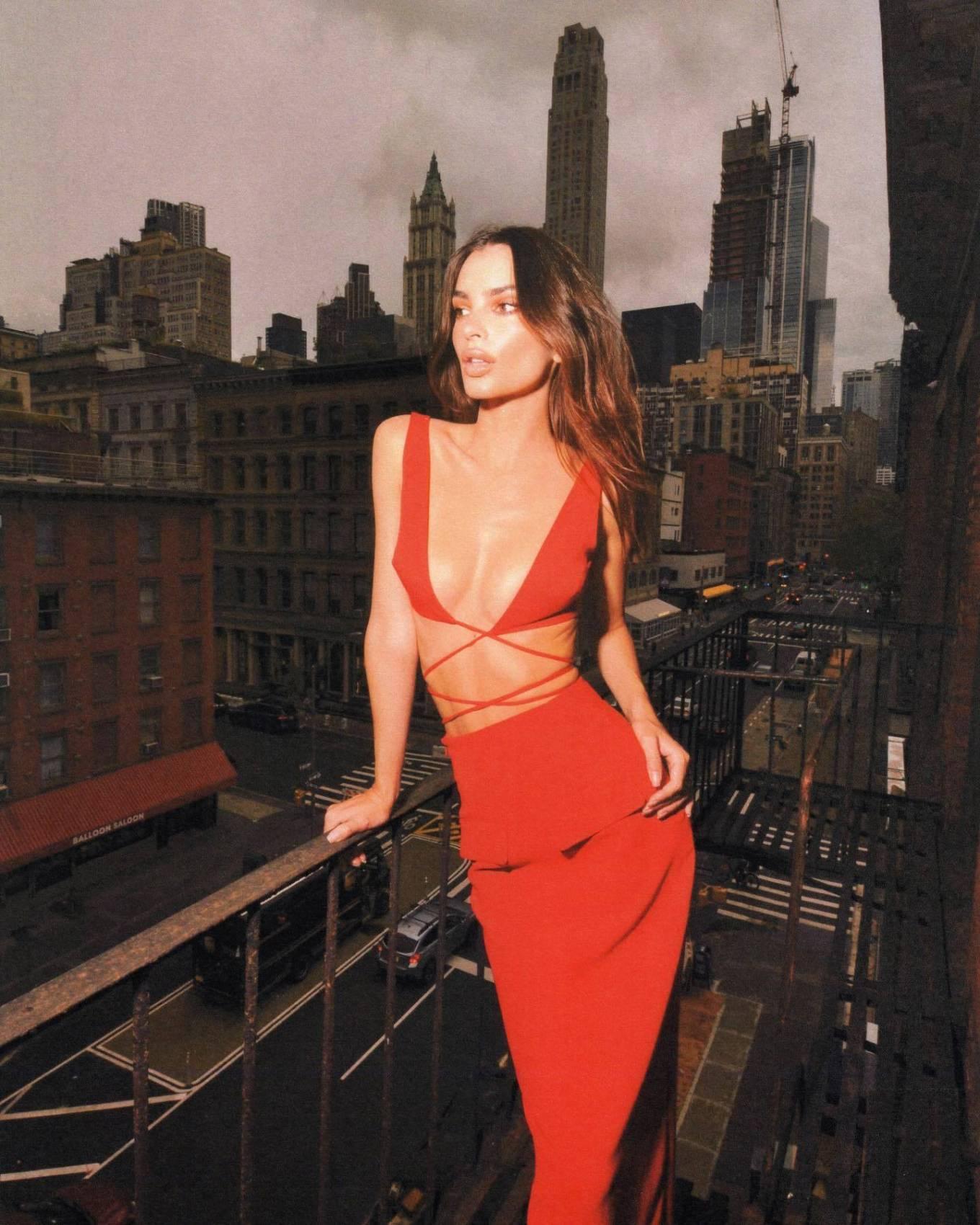 Emily Ratajkowski - Amber Asaly photoshoot during NY Fashion week 2021