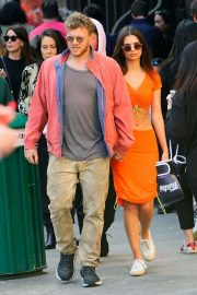 Emily Ratajkowski and husband Sebastian Bear-McClard - Out in NYC