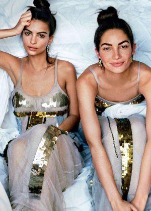 Emily Ratajkowski and Lily Aldridge - Vogue US Magazine (May 2016)